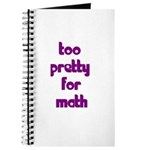 Too Pretty For Math Journal