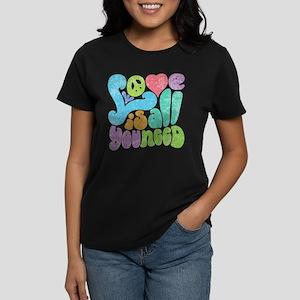 Love is All II Women's Dark T-Shirt