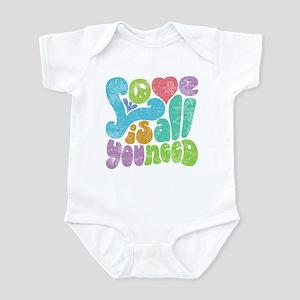 Love is All II Infant Bodysuit