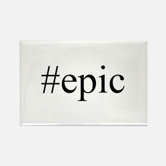 #epic Rectangle Magnet