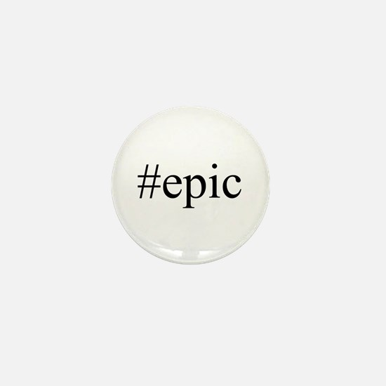 #hashtag Mini Button