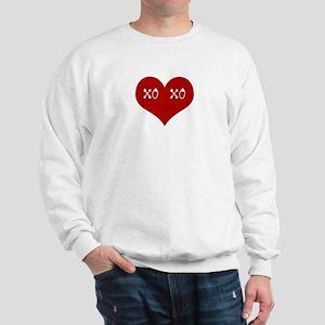 Hugs & Kisses Valentine Sweatshirt