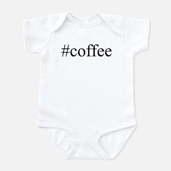 #coffee Infant Bodysuit