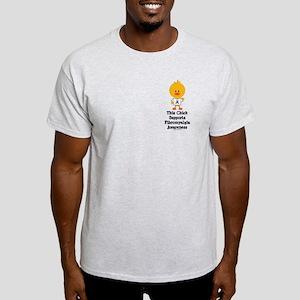 Fibromyalgia Awareness Chick Light T-Shirt