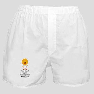 Fibromyalgia Awareness Chick Boxer Shorts