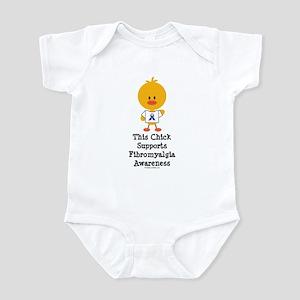 Fibromyalgia Awareness Chick Infant Bodysuit