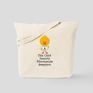 Fibromyalgia Awareness Chick Tote Bag