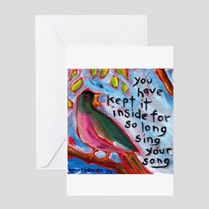 Your Song Greeting Card