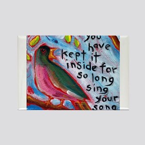 Your Song Rectangle Magnet (10 pack)