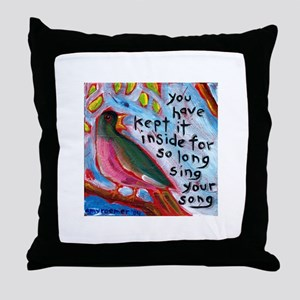 Your Song Throw Pillow