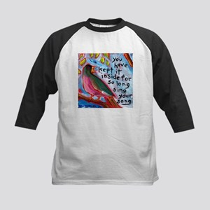 Your Song Kids Baseball Jersey