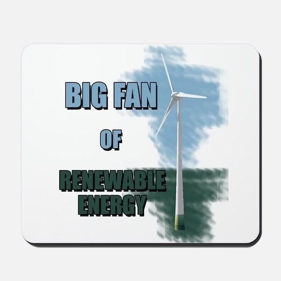 Big fan Mousepad