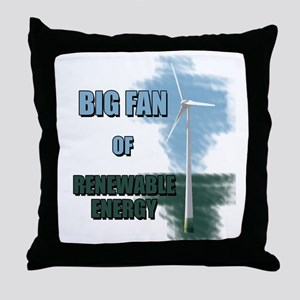 Big fan Throw Pillow