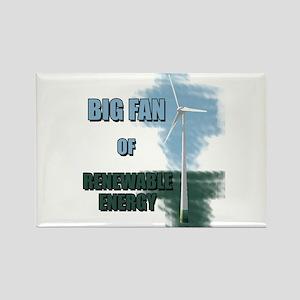 Big fan Rectangle Magnet