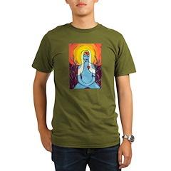 Meditation Organic Men's T-Shirt (dark)