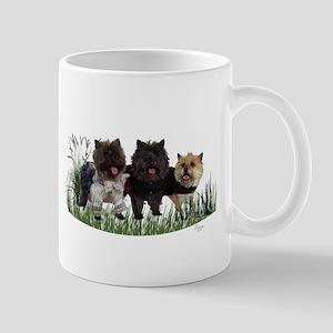 Kilted Cairn Terriers Mug