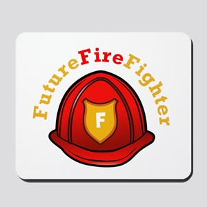 Future Fire Fighter Mousepad
