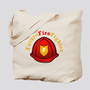 Future Fire Fighter Tote Bag