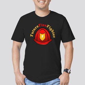 Future Fire Fighter Men's Fitted T-Shirt (dark)