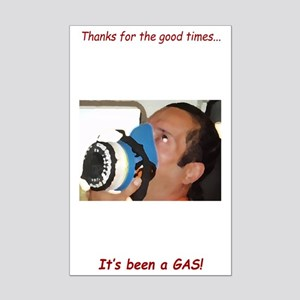 It's Been A Gas Mini Poster Print