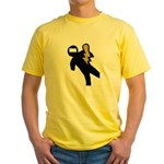 Hazardous Yellow T-Shirt