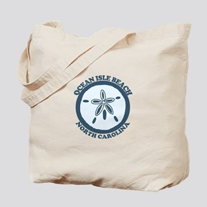 "Holden Beach NC ""Sand Dollar"" Design Tote Bag"