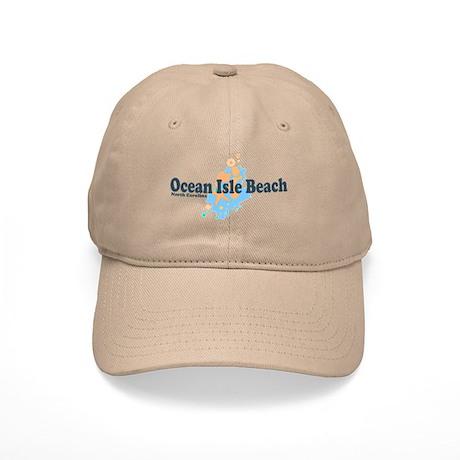Ocean Isle Beach NC - Seashells Design Cap