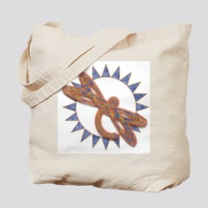 Fiery Dragonfly Tote Bag