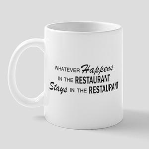 Whatever Happens - Restaurant Mug