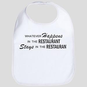 Whatever Happens - Restaurant Bib