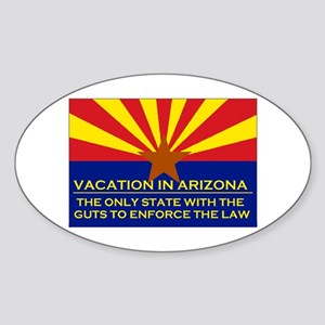 BEST STATE IN THE USA Sticker (Oval)