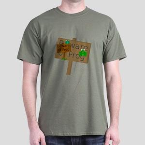 Beware of Frog Dark T-Shirt