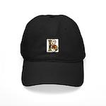Celtic Art Initial B Black Cap
