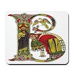 Celtic Art Initial B Mousepad