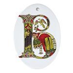 Celtic Art Initial B Keepsake/Ornament