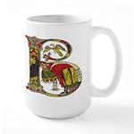 Celtic Art Initial B Large Mug