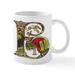 Celtic Art Initial B Mug