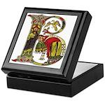 Celtic Art Initial B Keepsake Box