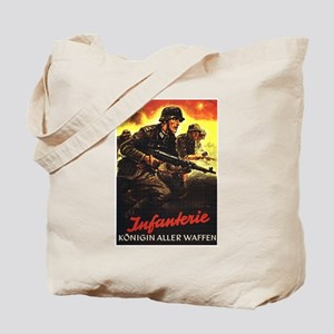 """Crossfire"" Tote Bag"