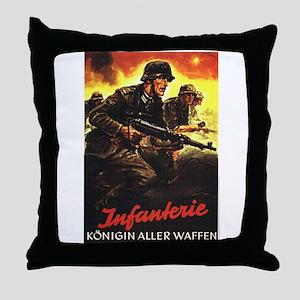 """Crossfire"" Throw Pillow"