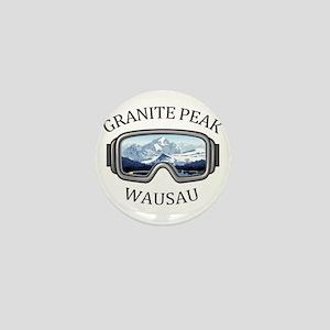 Granite Peak - Wausau - Wisconsin Mini Button