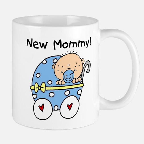 New Mommy Baby Boy Mug