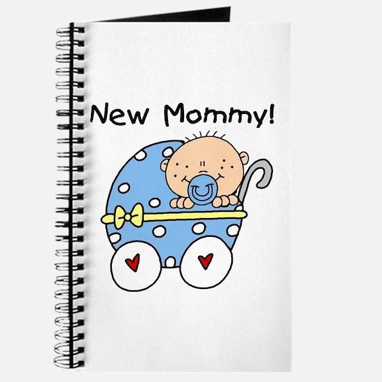 New Mommy Baby Boy Journal