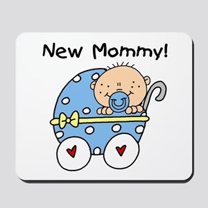 New Mommy Baby Boy Mousepad