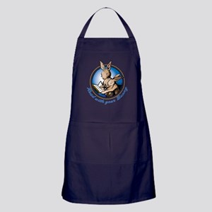 Read with Your Bunny Apron (dark)