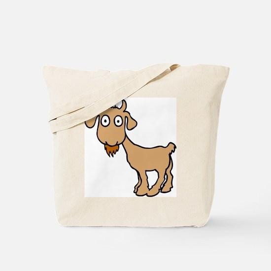 Cute Billy Goat Tote Bag