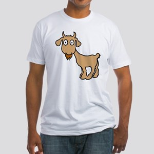 Cute Billy Goat Fitted T-Shirt