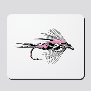 PINK CAMO FLY Mousepad