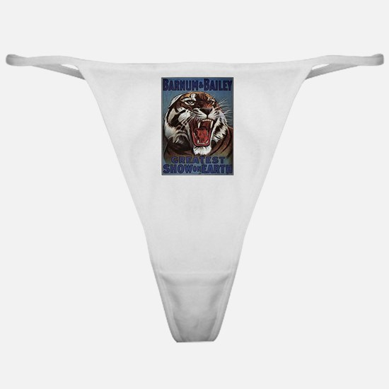 Vintage Circus Tiger Classic Thong