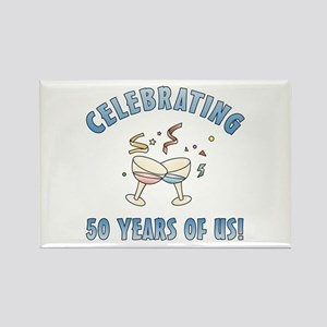 50th Anniversary Party Rectangle Magnet